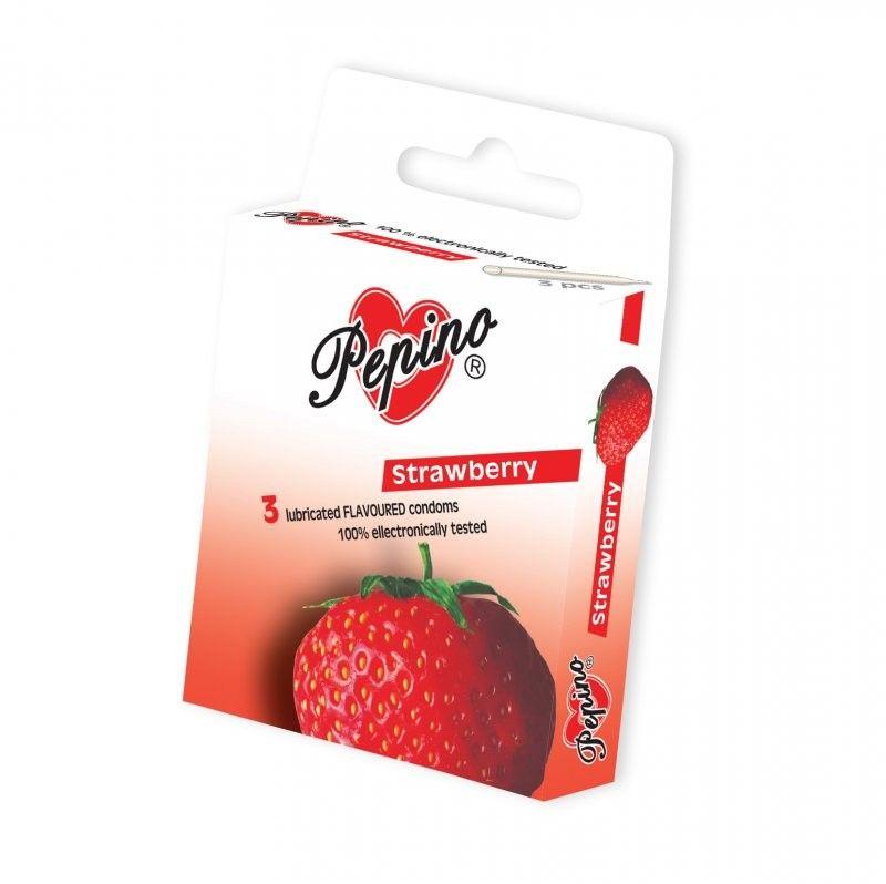 Kondomy Pepino - Jahoda