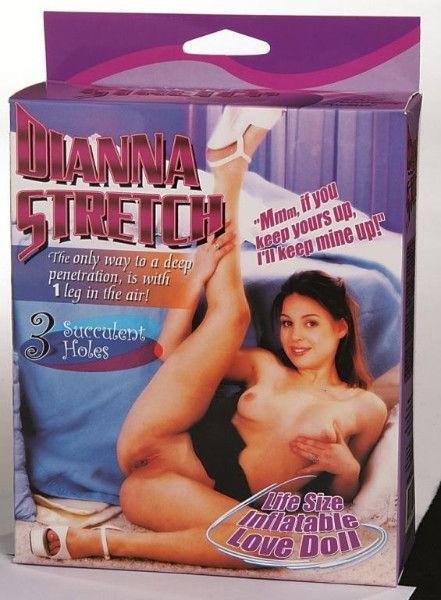Nafukovacia panna Diana Stretch