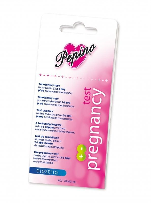 Tehotenský test - Pepino