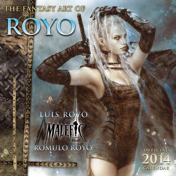 FANTASY ART OF ROYO - Official 2014 Calendar