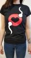 Dámské tričko erotický veletrh vzor3 M