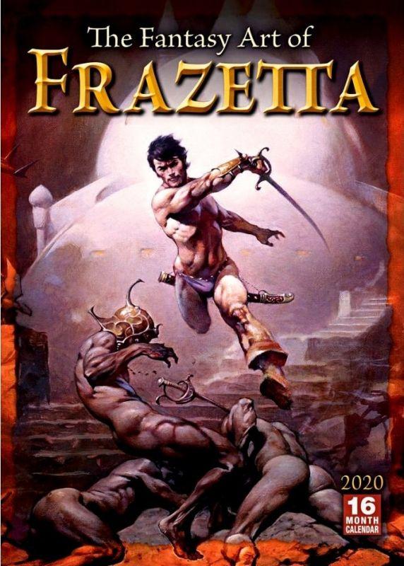 FANTASY ART OF FRANK FRAZETTA - 2020 CALENDAR
